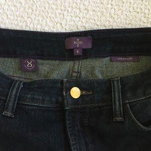 NYDJ  Straight Leg Jeans EUC